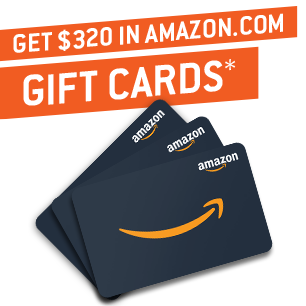 Electricity + $320 in Amazon.com Gift Cards