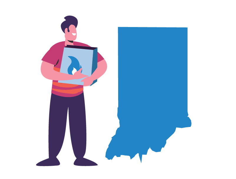 natural gas in Indiana