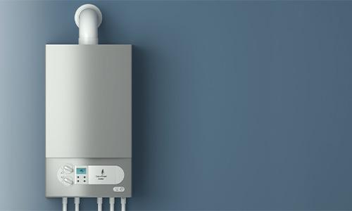 A gas-fired boiler controller
