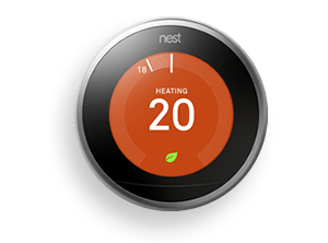Get a Nest Learning Thermostat with the Comfort & Control plan