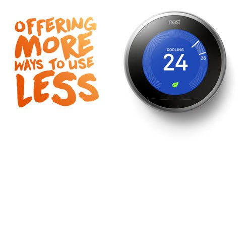 Enjoy a Nest Learning Thermostat from Direct Energy